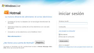 Bug en Hotmail Reparado
