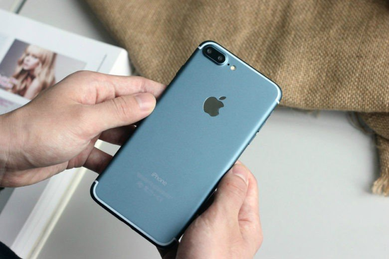 Prototipo del Dark Blue iPhone 7