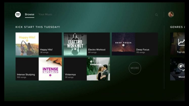 how to connect spotify to xbox one
