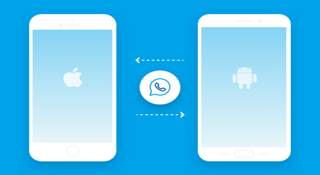 Transfiere WhatsApp entre Android y iOS con Dr.Fone