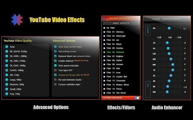 YouTube Video Effects